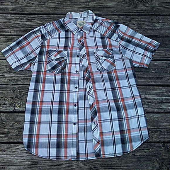 Rustic Blue Other - Plaid shirt